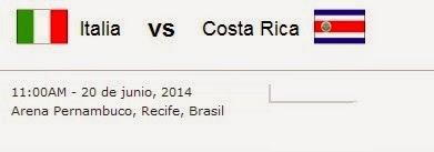 resultado final Italia vs Costa Rica