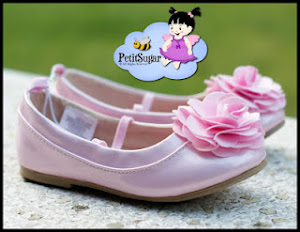 OLD NAVY ROSETTE SHOE 2 (pink color) Size:5(13cm),6(13.8cm),7(14.6cm),8(15.5cm),10(17.5cm),11(18cm)