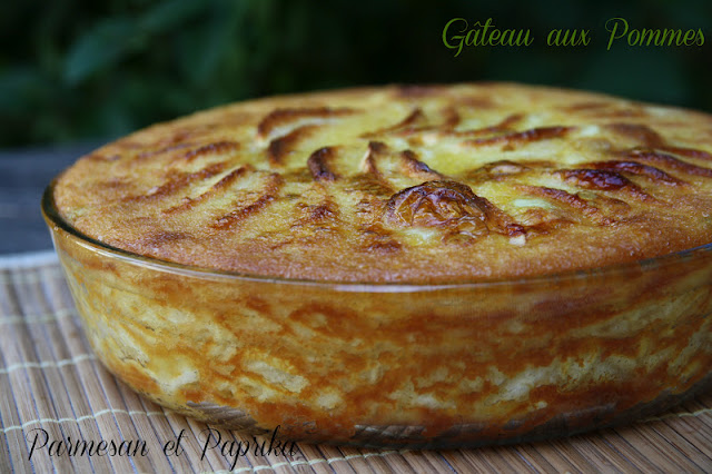 Cake Flan Aux Pommes Light