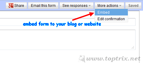 embed-google-form-blog-website