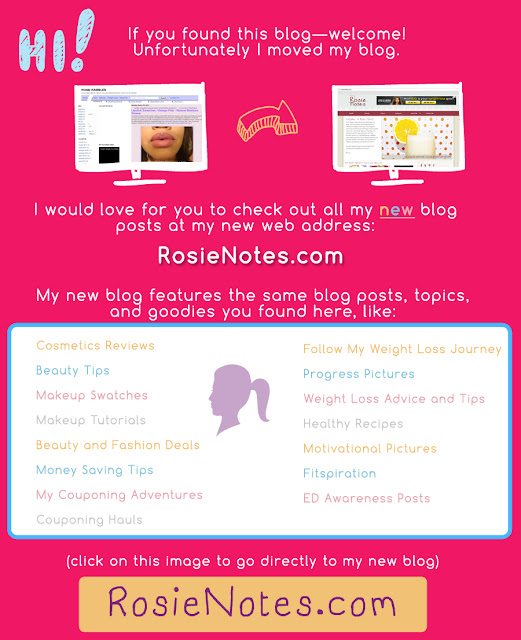 Rosie Rambles New Blog/Website