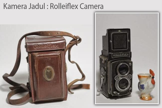 Kamera Jadul : Rolleiflex Camera
