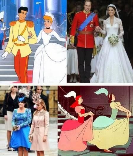 شخصيات أفلام الرسوم المتحركة موجودة في العالم الحقيقي