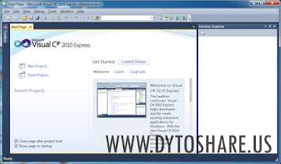 Microsoft Visual Studio 2010 Express
