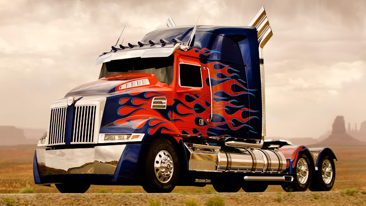 optimus prime truck transformers age of extinction 4 2014