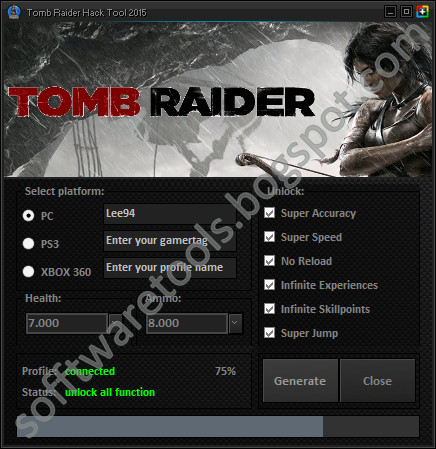 Tomb Raider Hack Tool 2015 Pc Ps3 Xbox 360 No