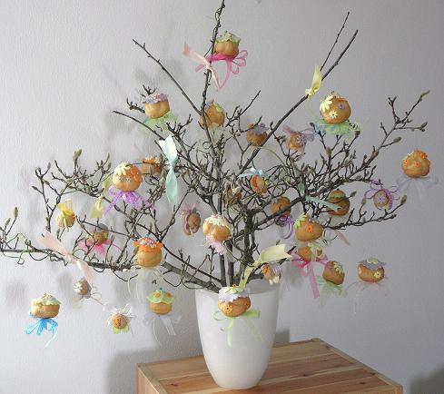 Handmade lara albero di pasqua 2012 - Decorazioni per uova di pasqua ...