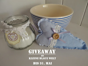 Giveaway in der kleinen blauen Welt