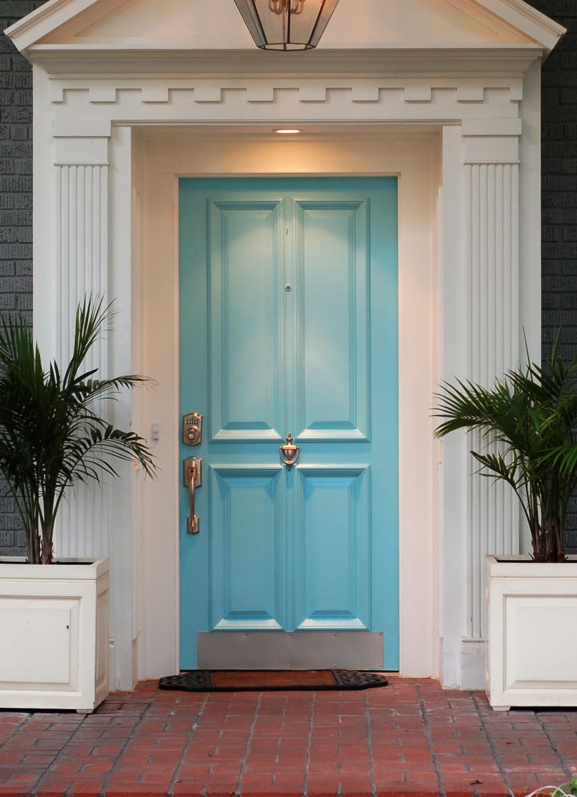 Economy paint supply make it a grand entrance for Grand front doors