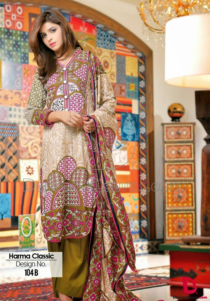 Formal summer lawn prints 2015