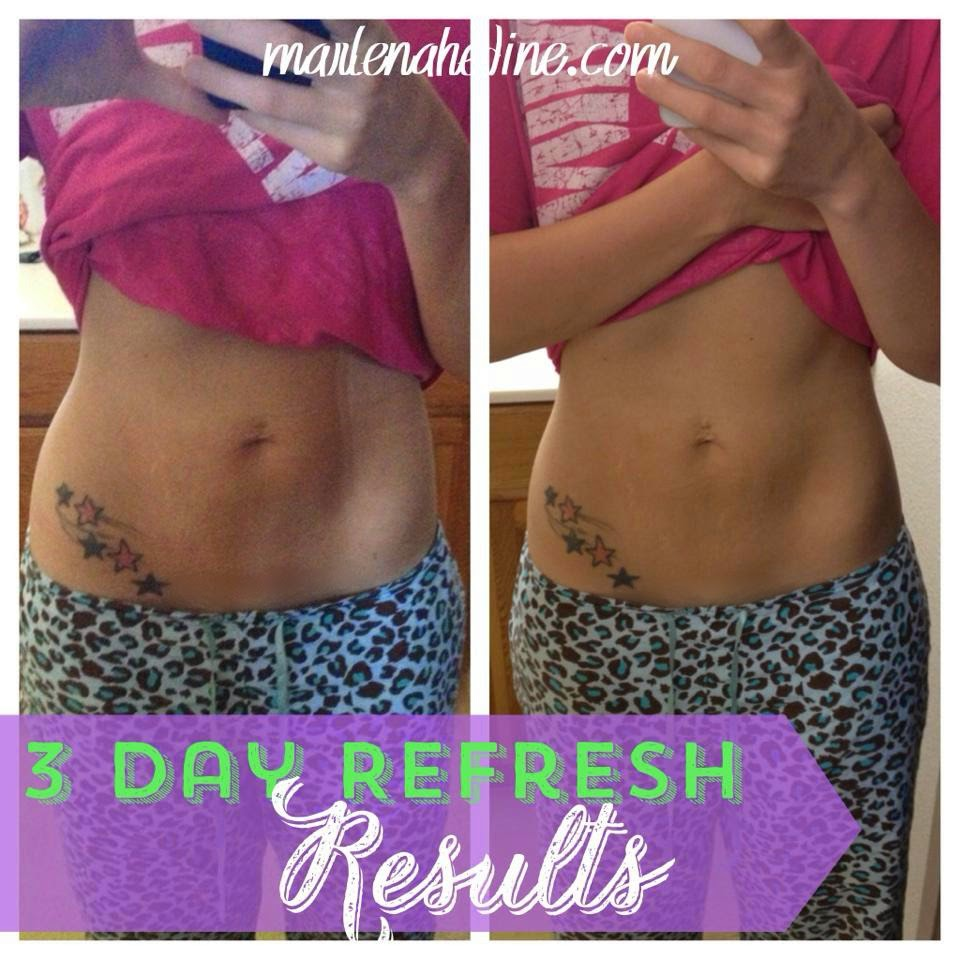 3 day bikini plan, summer ready, loose the bloat, 3 day refresh results