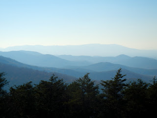 View of the Shenandoah Valley from the Skyline Drive