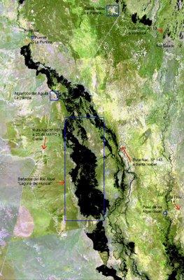 Resultado de imagen para La Pampa. Rio Atuel . mapa