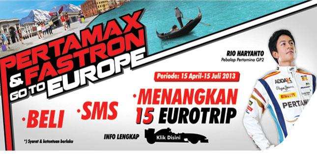 Beli Pertamax dan Fastron Bisa Tur Eropa serta Nonton F1
