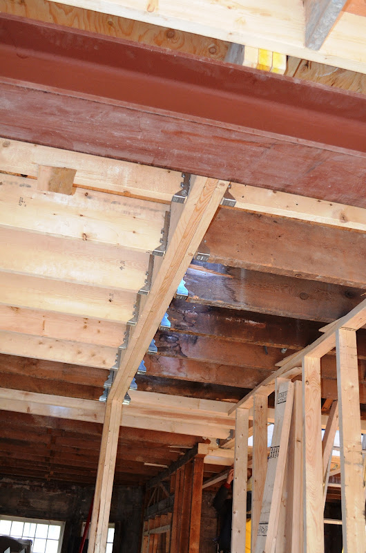 Steel Beam Ceiling Joists