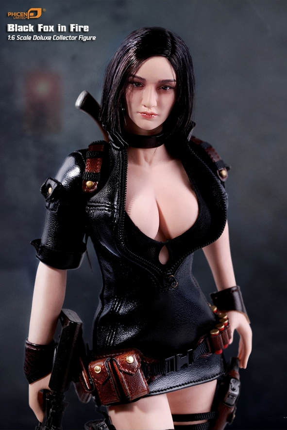 """1//6 Large Bust Seamless Female Body for Phicen Hot Toys 12/"""" Action Figure Head"""