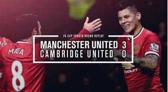 Manchester United vs Cambridge 3-0 All Goals & Highlights Video