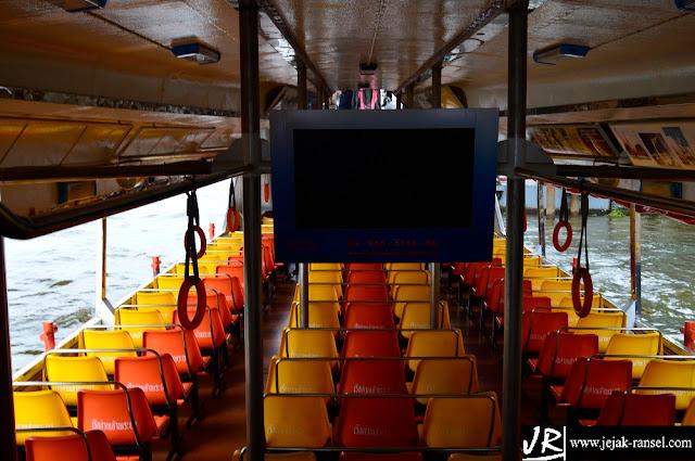 """""""Cabin Chao Praya Express on Board"""""""