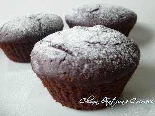 Muffin Cacao e Bacche di Goji - Light, Gustosi, Vegan e Gluten free