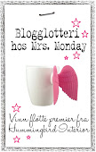 Giveaway hos Mrs Monday!