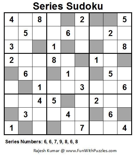 Series Sudoku (Fun With Sudoku #38)