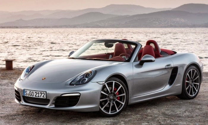 New Silver Porsche Boxster S Wallpapers