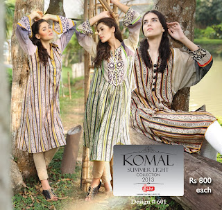 Komal Summer Lawn 2013