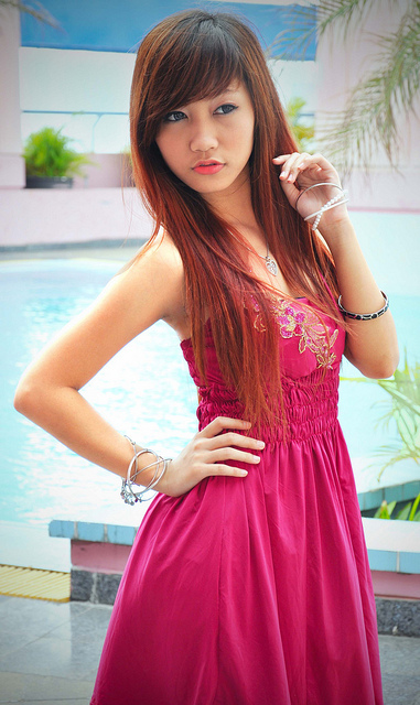 Cindy Devina from Indonesia