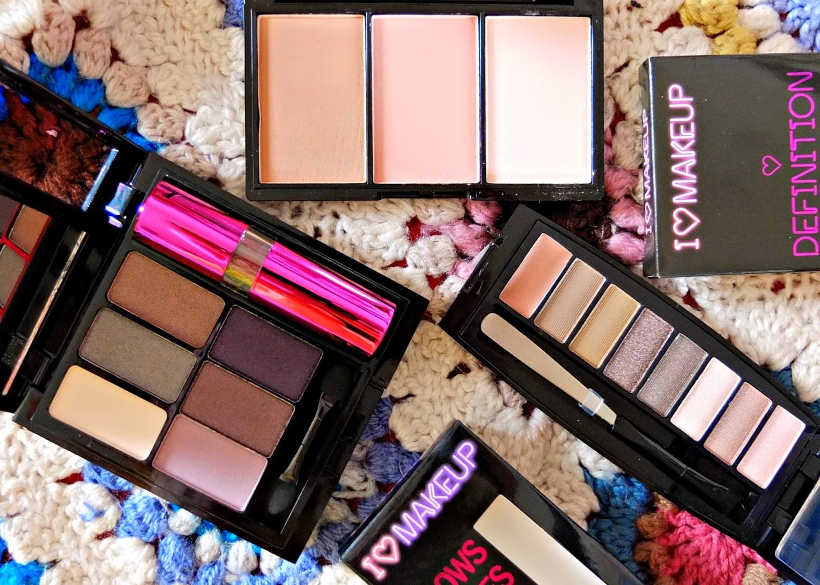 Blog Review of I Heart Make Up - Sister brand to budget beauty brand Make Up Revolution on UK beauty blog.