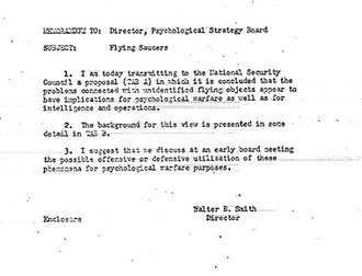 dokumen rahasia CIA tentang benda aneh