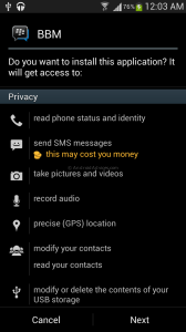 FREE! Unduh File APK BBM for Android Gingerbread Devices