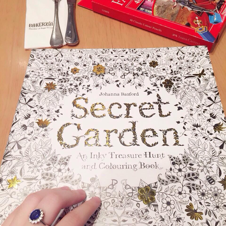 Secret Garden Colouring Book Buku Warna Satu Ini Per Drama Korea PRODUCER IU Mewarnai Dan Varity Running Man Song Ji Hyo