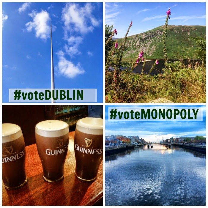Vote Dublin Vote Monopoly Global Edition