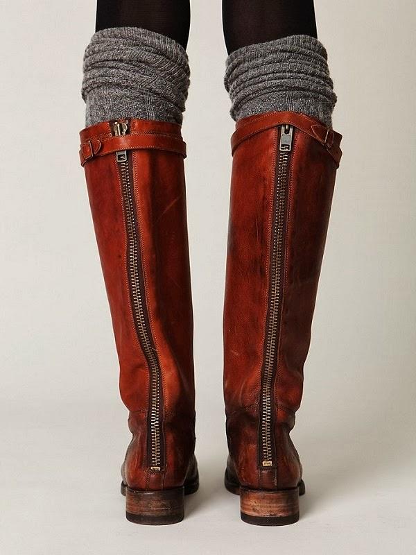 Steve Madden Back Zip Boots