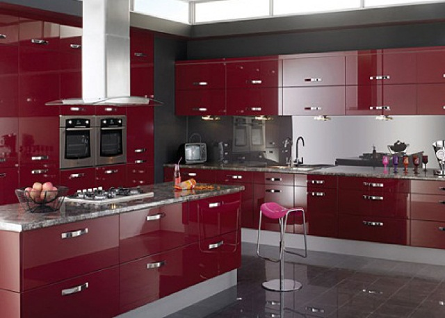 Classy Modular Kitchen Cabinet