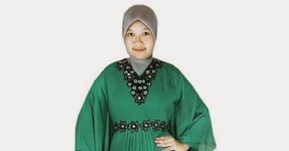 model baju muslim gamis untuk orang gemuk agar tampil cantik