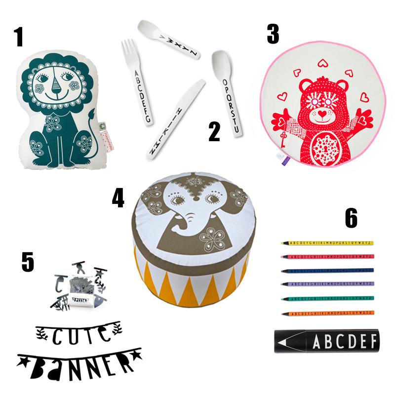 Pomysły na prezent z okazji dnia dziecka, dzień dziecka, poduszka, roommate, design letters, baner literowy