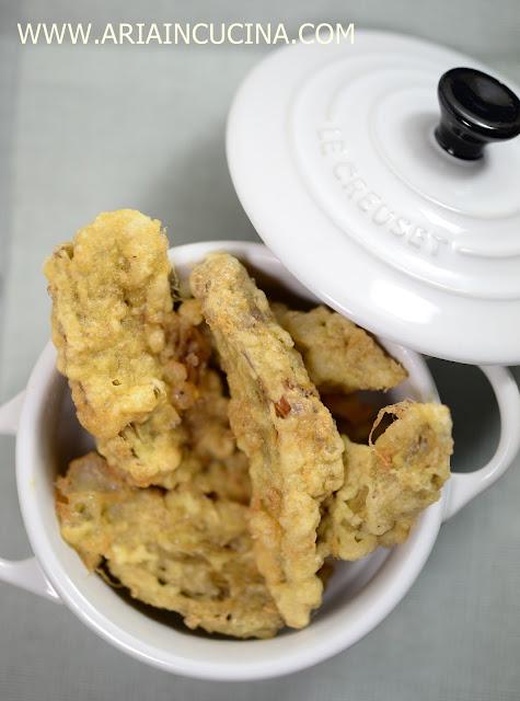 Blog di cucina di Aria: Carciofi fritti