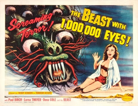Poster - The Beast with 1,000,000 Eyes (1955)