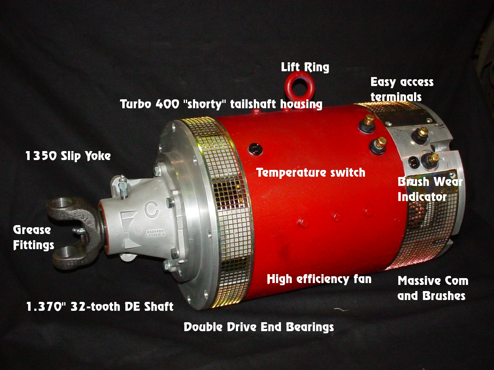 Ac motor ev conversion ac motor kit picture for Electric motors for cars for sale