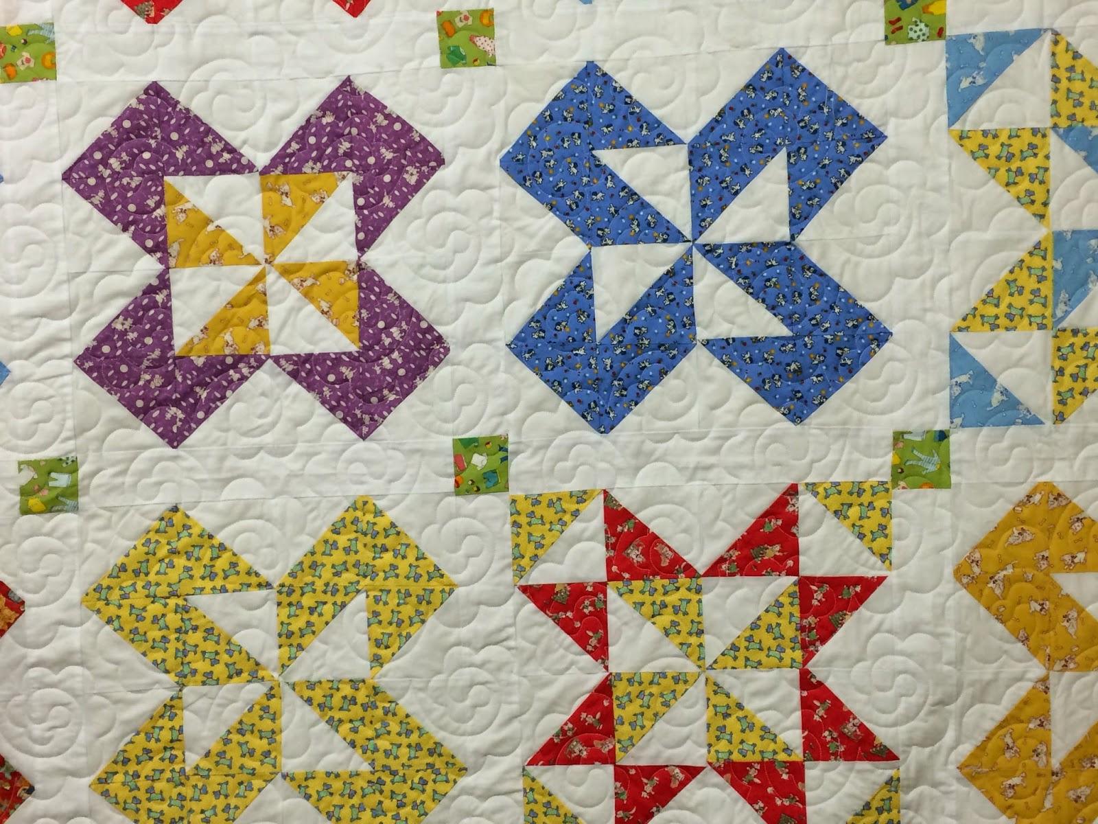 Sue Lindsay Childrens Pinwheel Quilt
