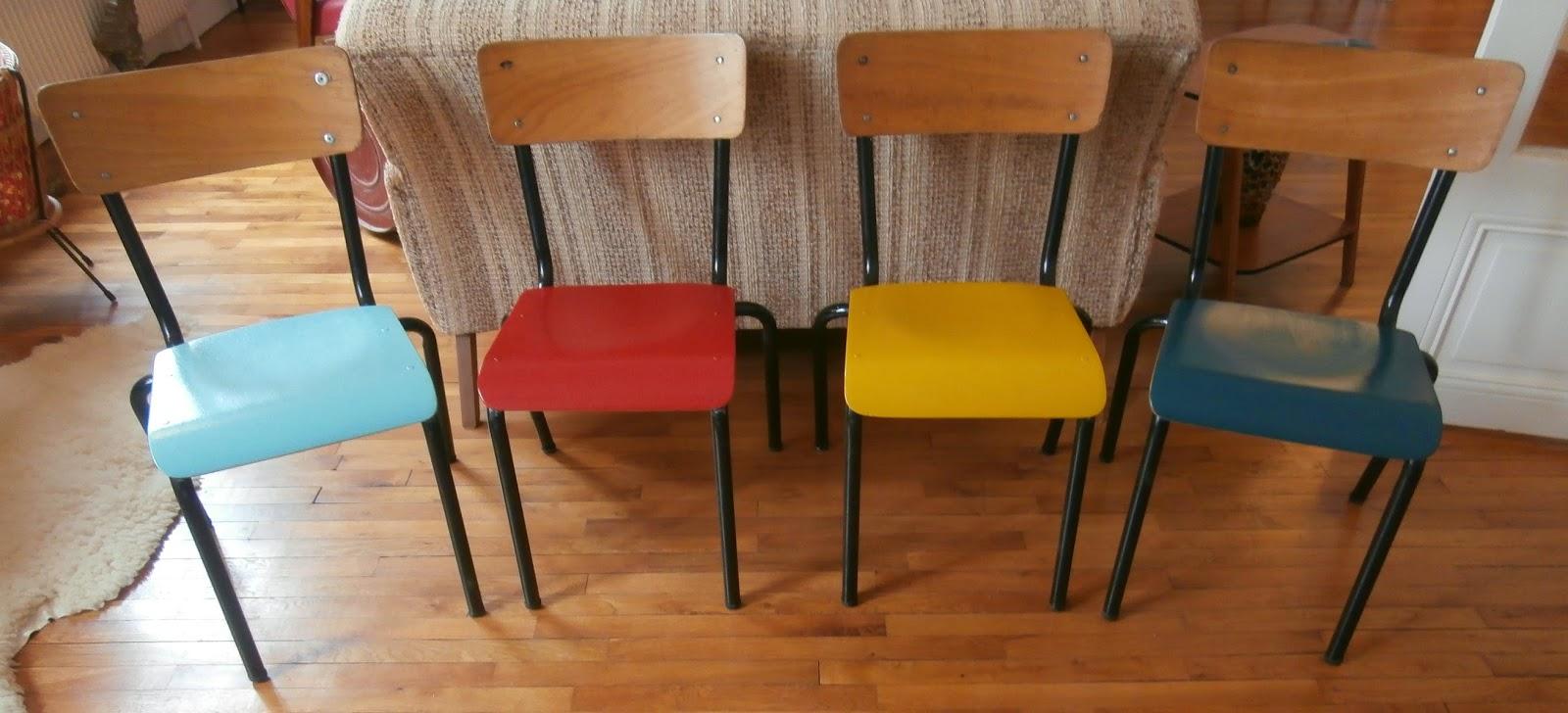 Dur e de vie ind termin e chaises color es pour enfants for Chaises colorees