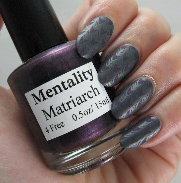 30 Days of Colour Challenge Matte with Stamping Bundle Monster Mentality Matriarch