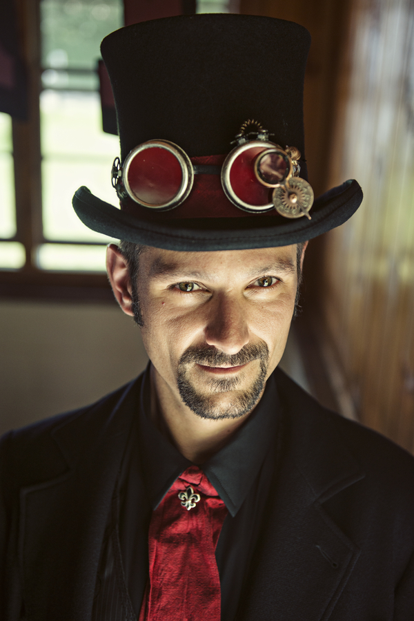 steampunk groom