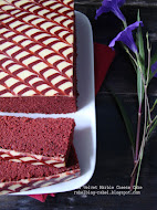 Red Velvet Marble Cheese Cake