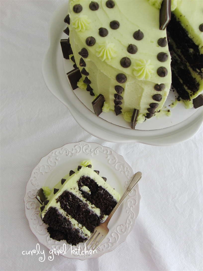 http://www.curlygirlkitchen.com/2013/03/mint-chocolate-chip-cake.html