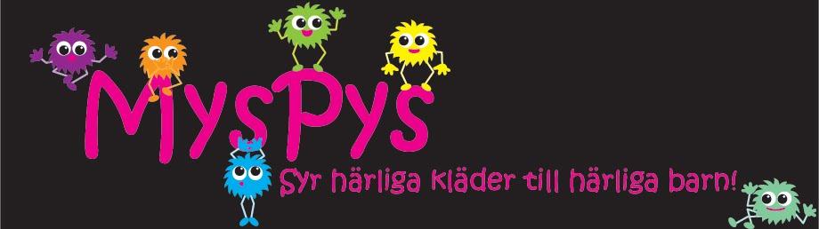 MysPys - härliga kläder till härliga barn!