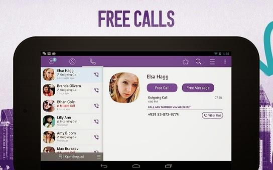 برنامج التراسل والاتصال المجاني فايبر للاندرويد - Viber APK
