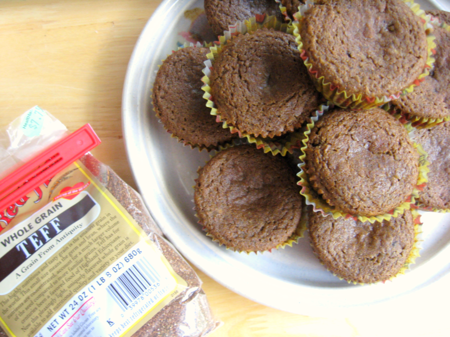 gluten free teff muffins free of gluten dairy casein soy corn gums ...