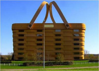 Edificio de la Cesta - Ohio - EE.UU. lugares sorprendentes. edificios extraños. los edificios mas extraños del mundo